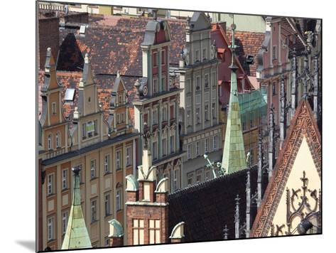 Old Town View from Marii Magdaleny Church, Wroclaw, Silesia, Poland, Europe-Frank Fell-Mounted Photographic Print
