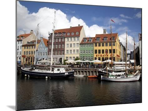 Nyhavn, Copenhagen, Denmark, Scandinavia, Europe-Frank Fell-Mounted Photographic Print