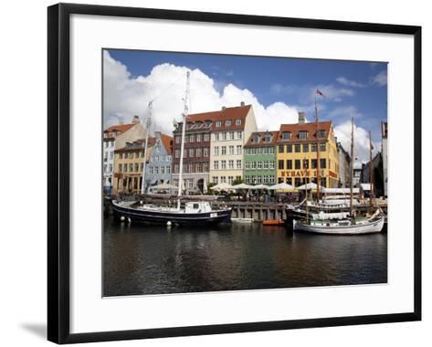 Nyhavn, Copenhagen, Denmark, Scandinavia, Europe-Frank Fell-Framed Art Print