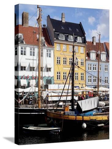 Nyhavn, Copenhagen, Denmark, Scandinavia, Europe-Frank Fell-Stretched Canvas Print