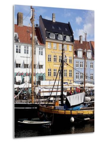 Nyhavn, Copenhagen, Denmark, Scandinavia, Europe-Frank Fell-Metal Print