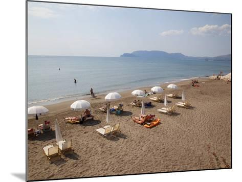 Beach, Kalamaki, Zakynthos, Ionian Islands, Greek Islands, Greece, Europe-Frank Fell-Mounted Photographic Print