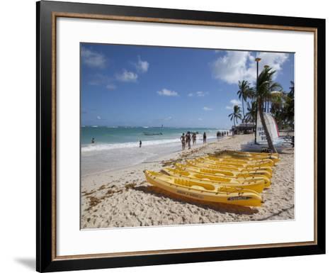 Bavaro Beach, Punta Cana, Dominican Republic, West Indies, Caribbean, Central America-Frank Fell-Framed Art Print