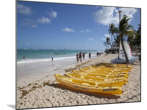 Bavaro Beach, Punta Cana, Dominican Republic, West Indies, Caribbean, Central America-Frank Fell-Mounted Photographic Print