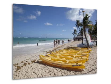 Bavaro Beach, Punta Cana, Dominican Republic, West Indies, Caribbean, Central America-Frank Fell-Metal Print