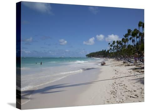 Bavaro Beach, Punta Cana, Dominican Republic, West Indies, Caribbean, Central America-Frank Fell-Stretched Canvas Print