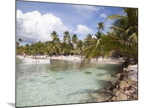 Saona Island, Dominican Republic, West Indies, Caribbean, Central America-Frank Fell-Mounted Photographic Print