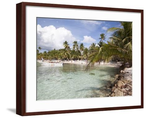 Saona Island, Dominican Republic, West Indies, Caribbean, Central America-Frank Fell-Framed Art Print