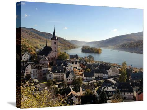 Lorch, Rhine Valley, Hesse, Germany, Europe-Hans Peter Merten-Stretched Canvas Print