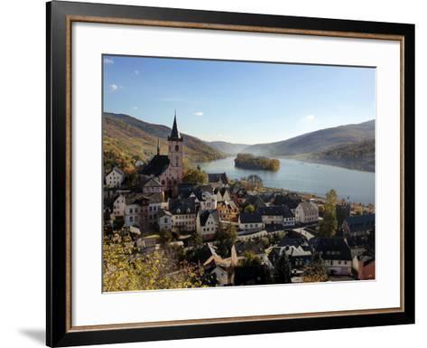 Lorch, Rhine Valley, Hesse, Germany, Europe-Hans Peter Merten-Framed Art Print