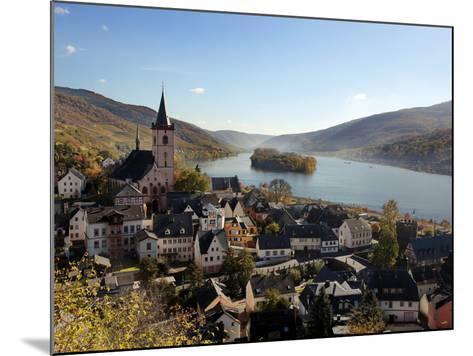 Lorch, Rhine Valley, Hesse, Germany, Europe-Hans Peter Merten-Mounted Photographic Print