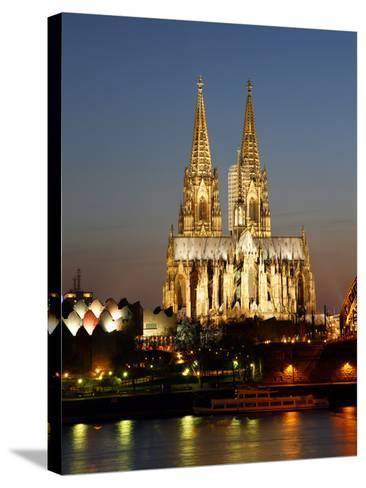 Cathedral, UNESCO World Heritage Site, Cologne, North Rhine Westphalia, Germany, Europe-Hans Peter Merten-Stretched Canvas Print