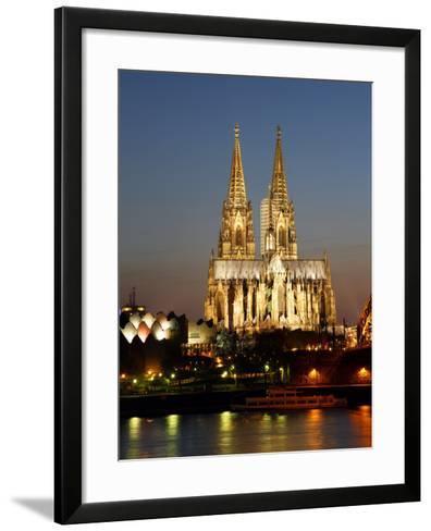 Cathedral, UNESCO World Heritage Site, Cologne, North Rhine Westphalia, Germany, Europe-Hans Peter Merten-Framed Art Print