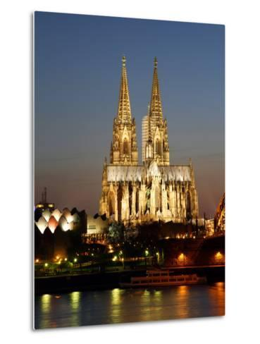 Cathedral, UNESCO World Heritage Site, Cologne, North Rhine Westphalia, Germany, Europe-Hans Peter Merten-Metal Print
