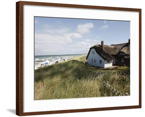 Ahrenhoop, Baltic Sea, Darvu-Fischland, Mecklenburg-Western Pomerania, Germany, Europe-Hans Peter Merten-Framed Art Print