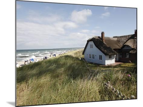 Ahrenhoop, Baltic Sea, Darvu-Fischland, Mecklenburg-Western Pomerania, Germany, Europe-Hans Peter Merten-Mounted Photographic Print