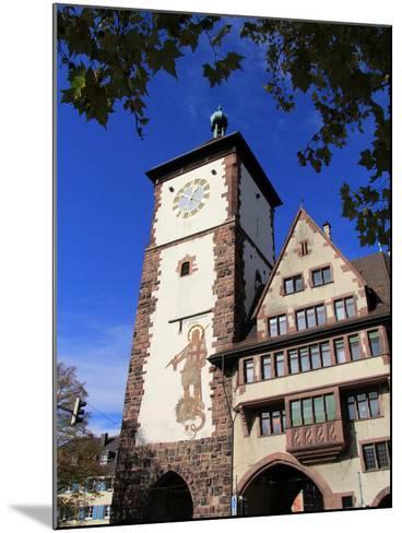 Schwabentor, Old Town, Freiburg, Baden-Wurttemberg, Germany, Europe-Hans Peter Merten-Mounted Photographic Print