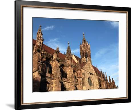 Freiburg Minster, Freiburg, Baden-Wurttemberg, Germany, Europe-Hans Peter Merten-Framed Art Print