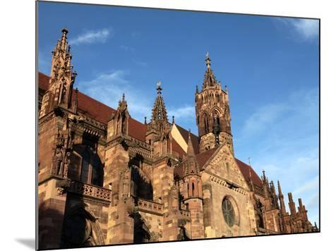 Freiburg Minster, Freiburg, Baden-Wurttemberg, Germany, Europe-Hans Peter Merten-Mounted Photographic Print