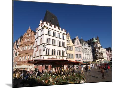 Market Square, Old Town, Trier, Rhineland-Palatinate, Germany, Europe-Hans Peter Merten-Mounted Photographic Print