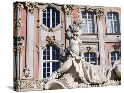 Electoral Palace, Trier, Rhineland-Palatinate, Germany, Europe-Hans Peter Merten-Stretched Canvas Print