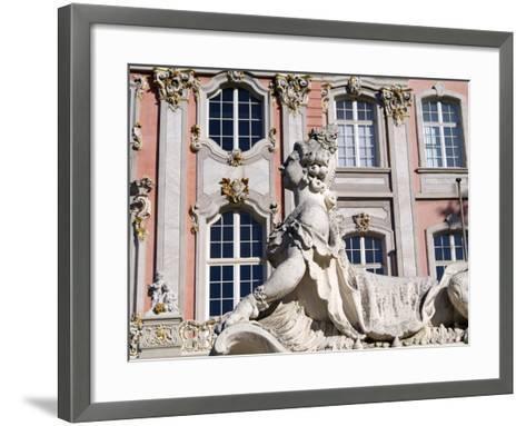 Electoral Palace, Trier, Rhineland-Palatinate, Germany, Europe-Hans Peter Merten-Framed Art Print