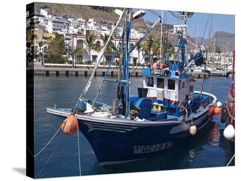 Puerto De Mogan, Gran Canaria, Canary Islands, Spain, Atlantic, Europe-Hans Peter Merten-Stretched Canvas Print