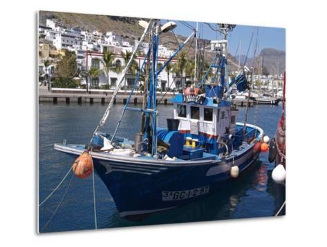 Puerto De Mogan, Gran Canaria, Canary Islands, Spain, Atlantic, Europe-Hans Peter Merten-Metal Print
