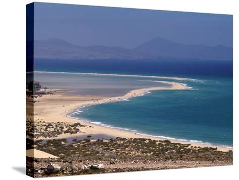 Playas De Sotavento, Fuerteventura, Canary Islands, Spain, Atlantic, Europe-Hans Peter Merten-Stretched Canvas Print