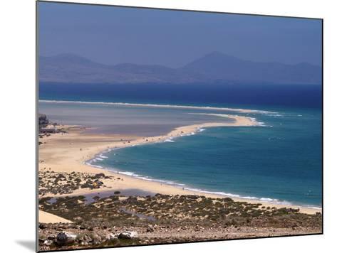 Playas De Sotavento, Fuerteventura, Canary Islands, Spain, Atlantic, Europe-Hans Peter Merten-Mounted Photographic Print