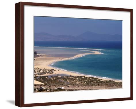 Playas De Sotavento, Fuerteventura, Canary Islands, Spain, Atlantic, Europe-Hans Peter Merten-Framed Art Print