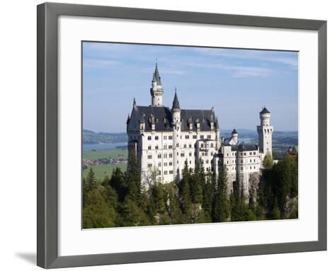 Neuschwanstein Castle, Schwangau, Allgau, Bavaria, Germany, Europe-Hans Peter Merten-Framed Art Print