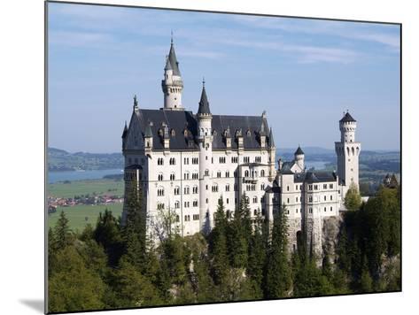 Neuschwanstein Castle, Schwangau, Allgau, Bavaria, Germany, Europe-Hans Peter Merten-Mounted Photographic Print