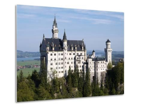 Neuschwanstein Castle, Schwangau, Allgau, Bavaria, Germany, Europe-Hans Peter Merten-Metal Print