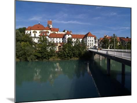 Fussen, River Lech and Castle, Allgau, Bavaria, Germany, Europe-Hans Peter Merten-Mounted Photographic Print
