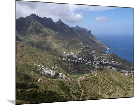 Anaga Mountains and Almaciga, Tenerife, Canary Islands, Spain, Atlantic, Europe-Hans Peter Merten-Mounted Photographic Print