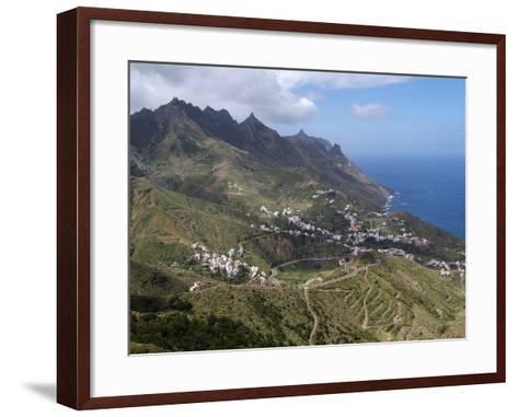Anaga Mountains and Almaciga, Tenerife, Canary Islands, Spain, Atlantic, Europe-Hans Peter Merten-Framed Art Print