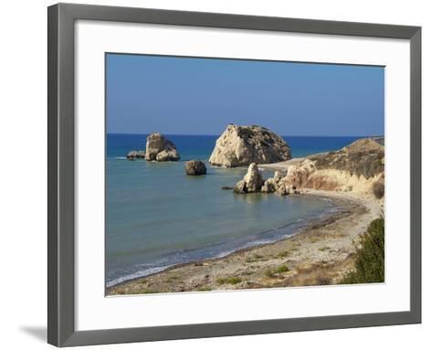 Petra Tou Romiou, Aphrodite's Rock, UNESCO World Heritage Site, Near Paphos, Cyprus, Mediterranean,-Hans Peter Merten-Framed Art Print