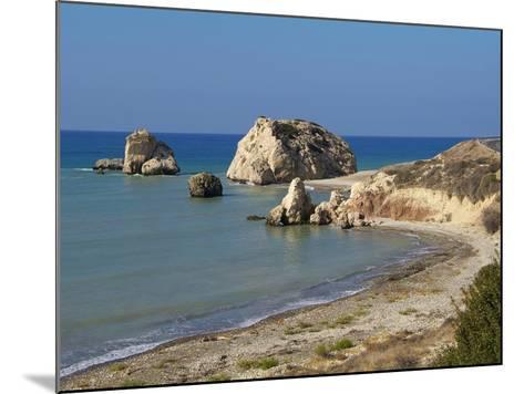Petra Tou Romiou, Aphrodite's Rock, UNESCO World Heritage Site, Near Paphos, Cyprus, Mediterranean,-Hans Peter Merten-Mounted Photographic Print