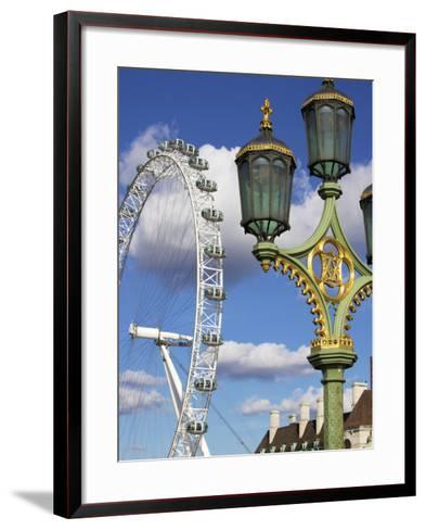 London Eye, London, England, United Kingdom, Europe-Jeremy Lightfoot-Framed Art Print