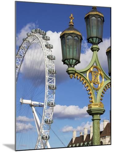 London Eye, London, England, United Kingdom, Europe-Jeremy Lightfoot-Mounted Photographic Print