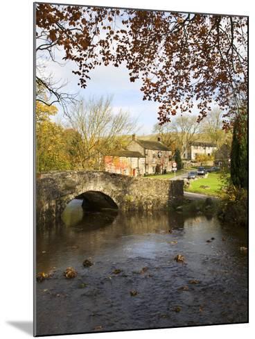 Malham Village in Autumn, Yorkshire Dales, Yorkshire, England, United Kingdom, Europe-Mark Sunderland-Mounted Photographic Print