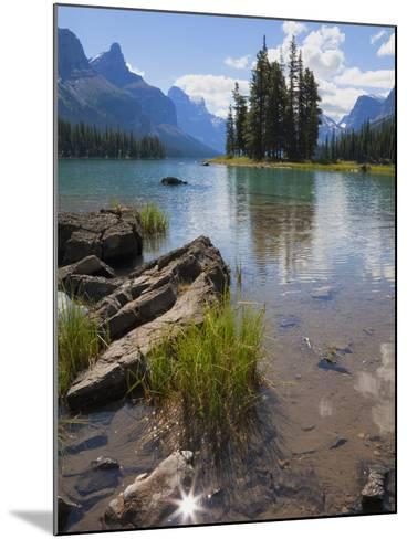 Spirit Island, Maligne Lake, Jasper National Park, UNESCO World Heritage Site, British Columbia, Ro-Martin Child-Mounted Photographic Print