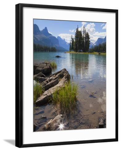 Spirit Island, Maligne Lake, Jasper National Park, UNESCO World Heritage Site, British Columbia, Ro-Martin Child-Framed Art Print