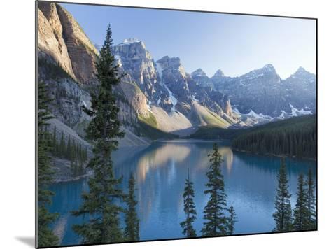 Reflections in Moraine Lake, Banff National Park, UNESCO World Heritage Site, Alberta, Rocky Mounta-Martin Child-Mounted Photographic Print