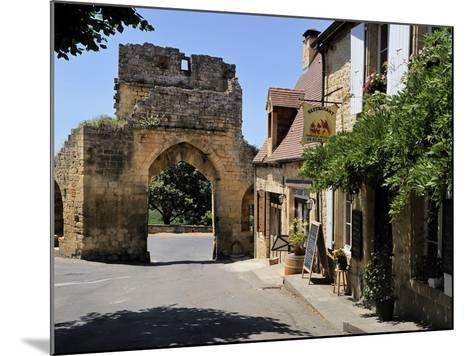 Porte Del Bos, Bastide Town, Domme, Les Plus Beaux Villages De France, Dordogne, France, Europe-Peter Richardson-Mounted Photographic Print