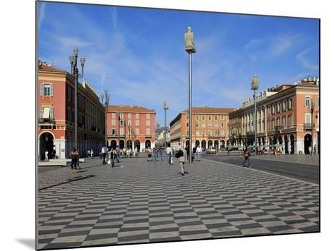 Place Massena, Nice, Alpes Maritimes, Provence, Cote D'Azur, French Riviera, France, Europe-Peter Richardson-Mounted Photographic Print