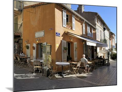 Back Street Restaurants, St. Tropez, Var, Provence, Cote D'Azur, France, Europe-Peter Richardson-Mounted Photographic Print