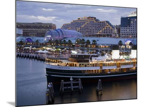 South Steyne Ferry and Harbourside in Darling Harbour, Central Business District, Sydney, New South-Richard Cummins-Mounted Photographic Print