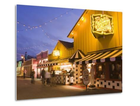 Old Fisherman's Grotto Restaurant on Fisherman's Wharf, Monterey, California, United States of Amer-Richard Cummins-Metal Print
